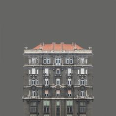 Urban Symmetry - Hungarian photographer Zsolt Hlinka's images of buildings on the banks of Eastern Europe's River Danube