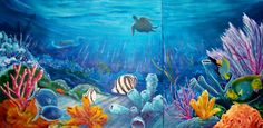 Underwater Ocean | These colorful underwater scenes are not figments of my very active