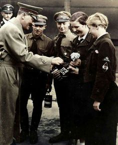 Der Fürher contributes to National Socialism. Not a Pfennig for himself.