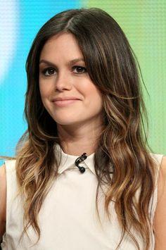 Rachel Bilson Hair! Love the shades of brown