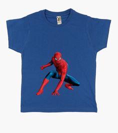 T-shirt Bambino, manica corta, blu reale