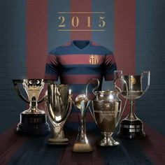 2015: A successful year , Visça Barça