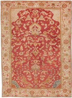 Antique turkish carpet
