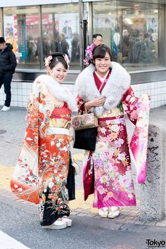 Coming of Age Day Kimono in Japan (30)