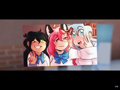 Aphmau with her girls!