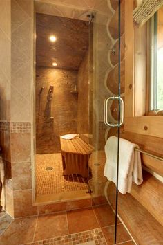 spa bathroom - love the colors