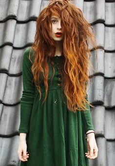 Love her hair color - they call me redhead: the hobbit, the rabbit and the habit