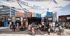 shipping container festival - Google Search
