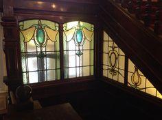 Beautiful Stained Glass at Travelodge Tunbridge Wells Hotel Mount Ephraim Tunbridge wells Kent TN4 8BU United Kingdom