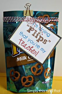 Back to School Gift Idea. Teachers need chocolate on the first day. :)