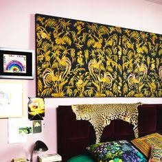 Azagury-Partridge's master bedroom. -Wmag http://www.wmagazine.com/culture/interiors/2014/07/solange-azagury-partridge-home/photos/