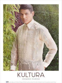 Pinasilk barong Barong Tagalog Wedding, Barong Wedding, Filipiniana Wedding, The Animals, Gay Men Weddings, First Communion, Kids And Parenting, Got Married, Mens Fashion