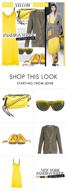 """""""Best Yellow Trend"""" by goreti ❤ liked on Polyvore featuring Acne Studios, Dax Gabler, Bill Blass, Christopher Kane and yellowdress"""