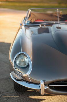 1963 Jaguar E-Type Series 1 RoadsterChassis no. Vintage Sports Cars, British Sports Cars, Vintage Cars, Jaguar E Type, Jaguar Cars, Car Photographers, Vintage Classics, Motor Car, Cars Motorcycles