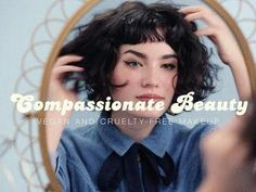 11 Vegan Beauty Vloggers That Will Open Your Eyes To The World Of Cruelty-Free Beauty Short Curly Hair, Curly Hair Styles, Curly Bangs, Hair Inspo, Hair Inspiration, Bouffant Hair, Facial, Threading Eyebrows, Perfect Eyebrows