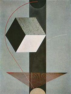 Proun 99 - El Lissitzky