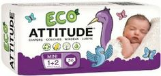 ATTITUDE Attitude Diapers Case - Size 1-2 144ct. by ATTITUDE. $49.39. ATTITUDE Attitude DiapersBiodegradable: inner shell and paddingVegetable-based: materials from renewable resourcesCO2 neutral: we reduce and compensate our emissionsHypoallergenic: fragrance-free and chlorine-free