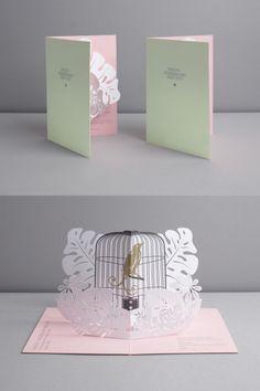 Fashion invite by Daniel Baer