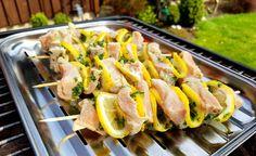 Lachs-Zitronen-Spieße grillen Rezept