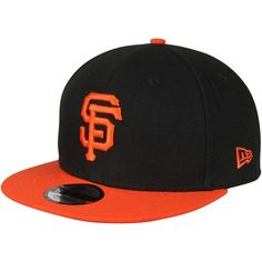 San Francisco Giants New Era Victory Side 9FIFTY Adjustable Snapback Hat - Black - $27.99