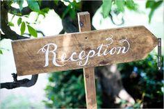reception sign | VIA #WEDDINGPINS.NET