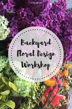 Create beautiful #floral arrangements from flowers that could be in your own backyard!