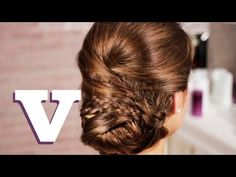 Kate Middleton Chignon: Hair With Hollie S04E4/8 - YouTube