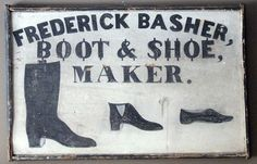 Raccoon Creek: A wooden mid 19th C trade sign from Crosswicks, New Jersey.