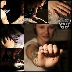 Yesterday experimental evening with hand tattooing #handtattoo #oldschooltattoo #demon #daemon #tattooedhand #tattooedfingers #triangletattoo #Fenyart #pilsen #tattoosession #tattoostudio #traditionaltattoo #dotwork