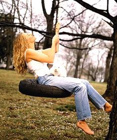 Deana Carter / Make swing for backyard...