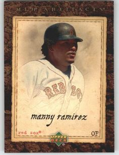 2007 Upper Deck Artifacts 3 Manny Ramirez Boston Red Sox Baseball Card -- This is an Amazon Affiliate link. See this great product.