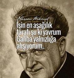 """Türk ve dünya şiirinin ulu çınarı, """"Mavi Gözlü Dev"""" Nazım Hikmet Ran'ı vefatının 53. yılında saygıyla anıyoruz."""