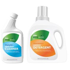 Meijer Ecowise Cleaning Products and Detergent Medical Packaging, Organic Packaging, Bottle Packaging, Cosmetic Packaging, Brand Packaging, Packaging Design, Plastic Bottle Design, Water Bottle Design, Detergent Bottles