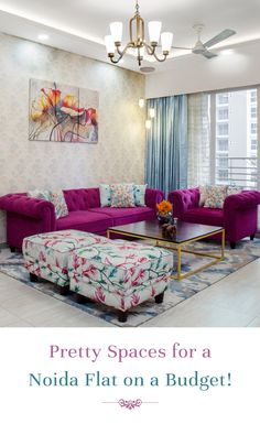 Stylish contemporary interior designs you won t believe were created on a budget livspace interiordesign contemporaryinteriors noida Drawing Room Interior Design, Home Room Design, Contemporary Interior Design, Home Interior Design, Living Room Sofa Design, Living Room Designs, Living Room Decor, Colourful Living Room, Indian Living Rooms