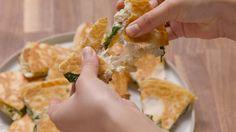 Make Yourself A Dang Spinach-Artichoke Quesadilla  - Delish.com