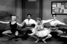 maudit animated GIF I Love Lucy ballet eposide,sooo funny!