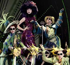 Mismatched Sorcerer Styles : Vogue Korea Witch Hunts