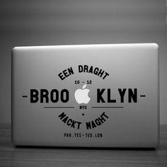 Brooklyn Laptop Stiker - Hu2 Design