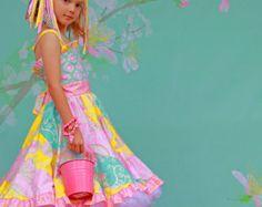 Buttercups Heart Maxi Dress by maninisunshine on Etsy