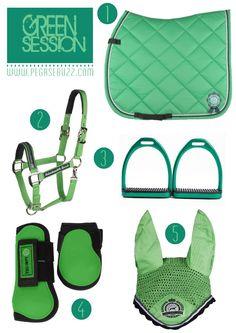 www.pegasebuzz.com | Equestrian Fashion : green session