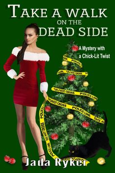 #Free #Chicklit #Mystery - Meet Macey Malloy and Wikket, her cantankerous cat with a nose for crime https://storyfinds.com/book/19073/take-a-walk-on-the-dead-side