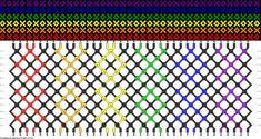 Rainbow XOXO Friendship Bracelet
