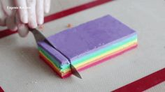 What is true love? True love is meticulously crafting Rainbow Heart Cookies. Your swain will fall for you all over again, once they see the special gift that calls for butter, confectioners sugar, egg...