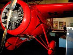 Amelia Earhart's plane: a Lockheed Vega 5B #earhart #aviation