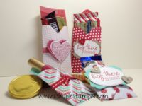 Treat bag - #SU Easy How to instructions