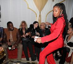 Mary J. Blige Photos - Tiffany Haddish (R) dances during the The Four cast Sean Diddy Combs, Fergie, and Meghan Trainor Host DJ Khaled's Birthday Presented by CÎROC and Fox on December 2, 2017 in Beverly Hills, California. - Ciroc Celebrates DJ Khaled's Birthday in Beverly Hills