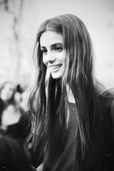 runwayandbeauty:  Taylor Hill by Claire Guillon - Paris Fashion Week Fall 2015.