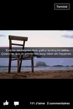 Kalpler ve sandalyeler...  A broken chair or a broken heart are the same things. Neither of them can carry the next visitor as before!