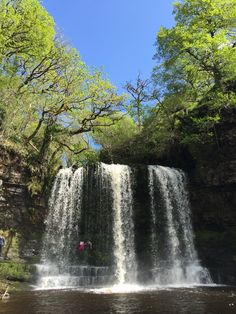 Sgwd Yr Eira, Waterfall Of The Snow, South Wales.