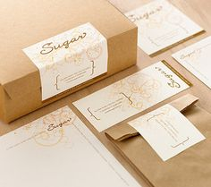 Not our Sugar, but we like this anyway! #print #packaging #design